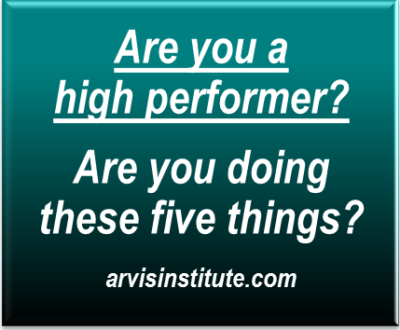 are you a high performer