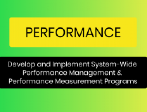 Performance Management and Measurement Systems